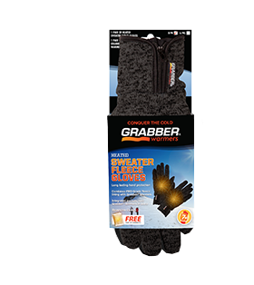 Grabber Sweater Fleece Gloves