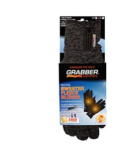 Grabber Sweater Fleece Gloves